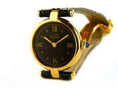 CARTIER Must Vendome Vermeil – Women's wristwatch.