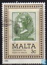 Postzegels - Malta - 100 jaar post