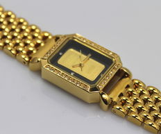 Credit Suisse – Ladies - Gold Ingot - Watch – unworn