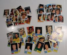 Variant of Panini - 65 cards Vanderhout - World Cup 74 (23x) + Dutch league 1977/1978 (30) + 1980/1981 (12)