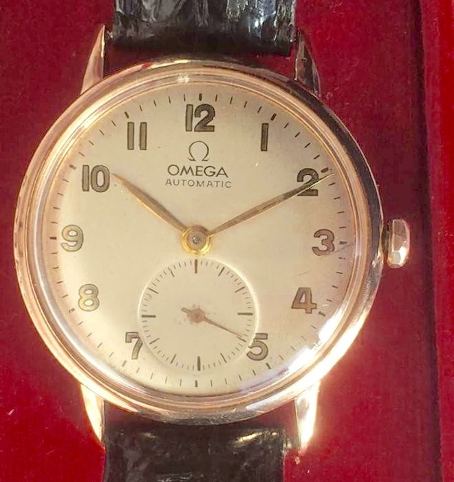 Omega Automatic – Men's watch – around 1944