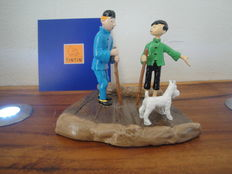 Hergé - Figurine Moulinsart 46218 - Tintin and Chang little guide - (2006)