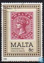 Postage Stamps - Malta - 100 years post