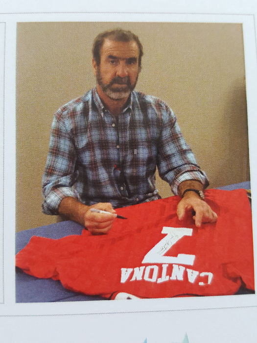 01bfce4f6 Eric Cantona - Official retro Manchester United 1994 FA Cup Final Jersey no.  7 - hand signed by Cantona + COA incl. photoproof.