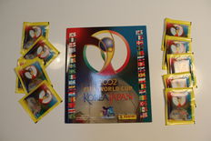 Panini - FIFA World Cup 2002 Japan & Kora - Empty album + 10 original unopened packets.
