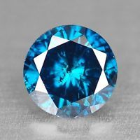 FIERY 0.16 Cts FANCY SPARKLING TITANIC BEST BLUE COLOR NATURAL LOOSE DIAMOND