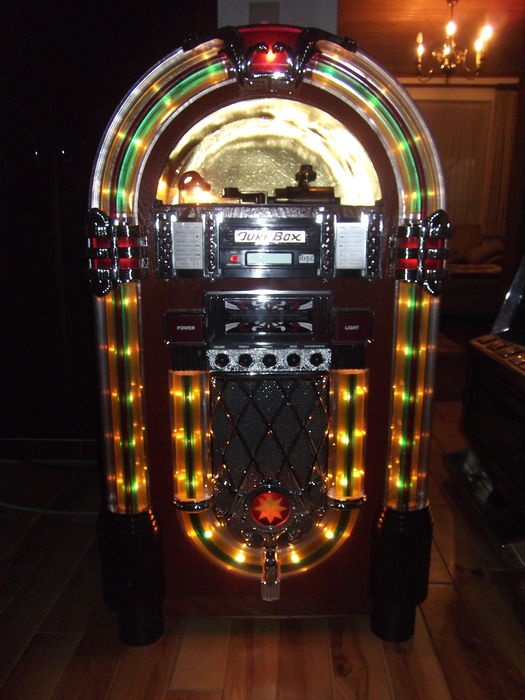replica jukebox large model wurlitzer cd radio tape m. Black Bedroom Furniture Sets. Home Design Ideas