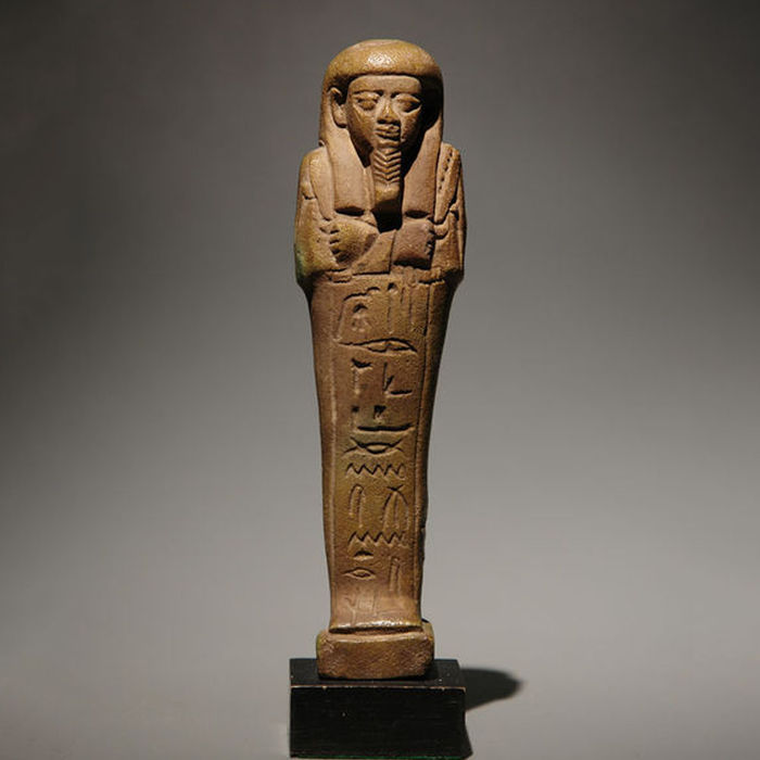 Ancient Egyptian ushebti of Padi-Hor-Mehen - 14 cm