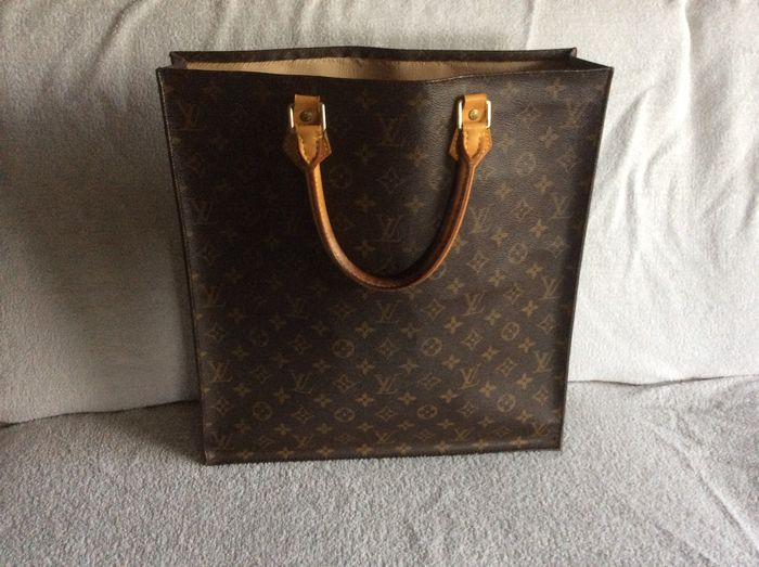 e79272fd5e059 Louis Vuitton - Sac Plat - Vintage handbag shopper - Catawiki