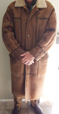 Christ - Exclusive shearling coat