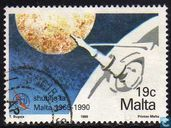 Postzegels - Malta - Internationale Telecommunicatie-unie