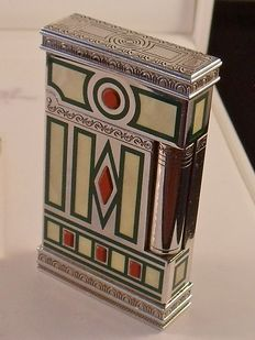 "S.T. lighter Dupont, product line 2 Limited Edition ""Medici"", lighter, briquet, feuerzeug"