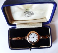 rolex ladies 100%. swiss 15 jewels  proof wrist watch. circa 1919 ref no {47}