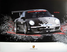 Poster - Porsche 911 GT3 Cup - Most produced Race Car of the world