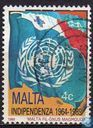 Postage Stamps - Malta - Independent 25 years