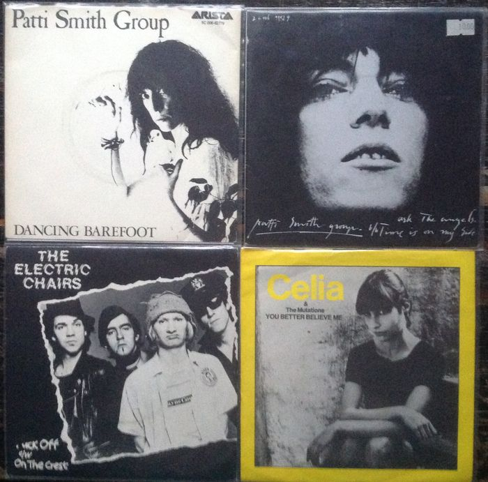 "Lot of 15x 7"" Singles - Patti Smith, Chris Spedding, Electric Chairs, Alan Vega, XTC and others"