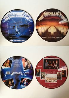 Metallica  Lot Of Two Very Collectable Picture Disc LP's