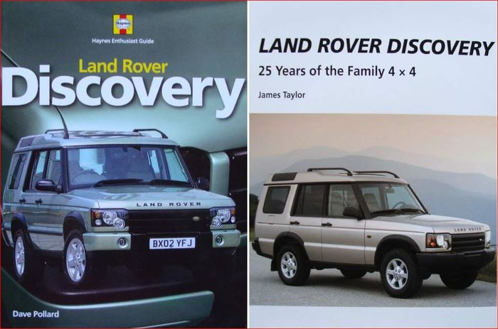 Books 2 X Land Rover Discovery Land Rover Discovery 25 Years Of