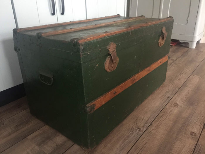 Old Storage Chest   The Netherlands   Early 20th Century