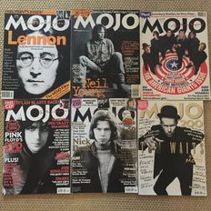 Mojo Magazine - lot with 27 unbound issues - 1994 / 2015