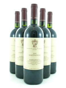 Barbaresco Martinenga Marchesi di Gresy, 2000 – 6 Bottles
