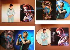 David Bowie Lot Of Two Very Collectable Picture Disc LP's  -  Special Editions For Ziggy Stardust Nippon / Japan Fanclub Only