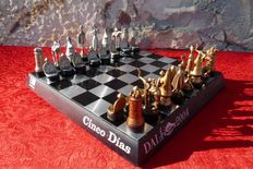 Collector surrealist chess game by Salvador Dali