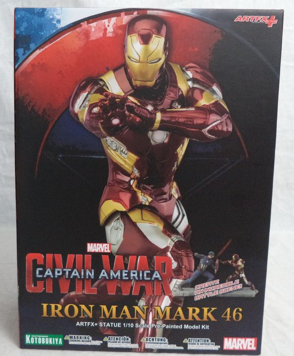 Avengers Iron Man Mark 43 1:6 Scale Statue Marvel Kotobukiya Artfx