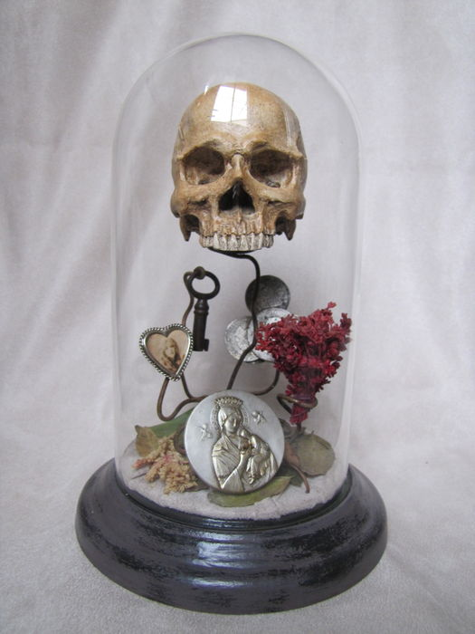 "Vanity memento mori ""Human Rise"" by Ried Gould"