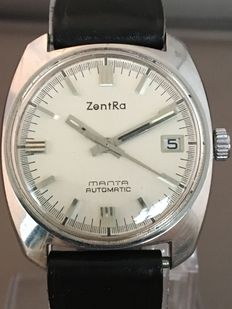 Zentra Manta automatic men's wristwatch - approx. the 1960s.