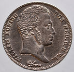 Check out our The Netherlands, 1/2 guilders, William I of the Netherlands, 1829B/23B, wrap