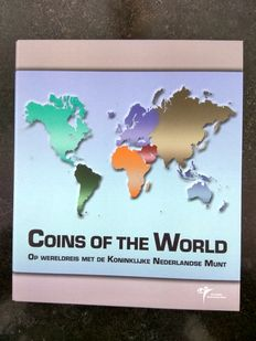 "World – Collection of various coins sets ""Coins of the World"" (22 sets)"