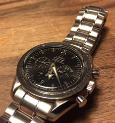 Omega – 3551.50.00 Speedmaster Broad Arrow Mens Chronograph  Watch ± 2012
