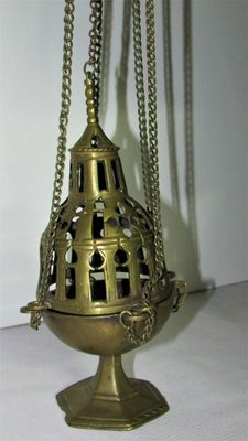 Gothic bronze censer (18th century)