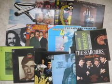 POP, ROCK Various Artists - lot of fourteen 14 LP'Albums including gatefolds double albums and  a Moody Blues -LP box