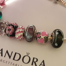 pandora murrine charms