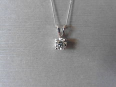 Platinum Diamond Pendant - 0.70ct  I/J, I1