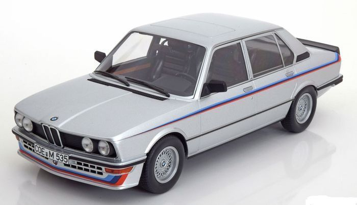 Norev - Scale 1/18 - BMW M535i (E12) 1980 - Limited 1500 pieces - Colour Silver