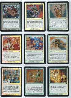 1x Magic Nemesis Foil COMPLETE SET - 2000