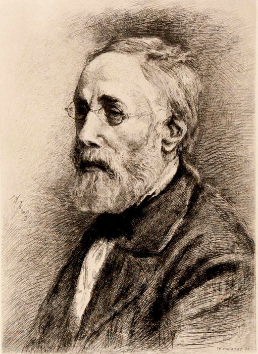 Ernest Chesneau - Josef Israëls, illustrated biography with two etchings - 1882