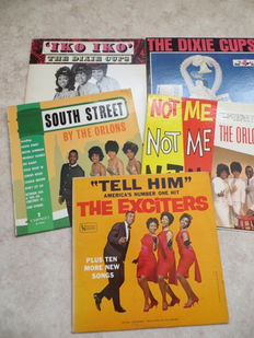 R&B  & Soul from the early sixties - lot of five rare, original USA- LP's, 1963 - 1965