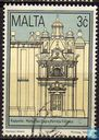 Postage Stamps - Malta - Historic buildings in Valletta