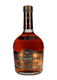 Suntory Special Reserve 10 years Sherry Cask 0,7L 40%