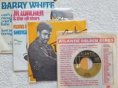 Lot of 42 vinyl Soul singles with special items: Flirtations, Don Govay & the Goodtimers