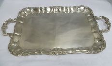 Silver tray, Spain, 20th century