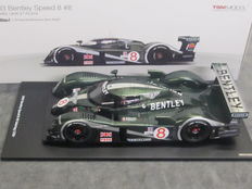 TSM Models - Scale 1/18 - Bentley Speed 8 #8 3rd Sebring 12 hours 2003