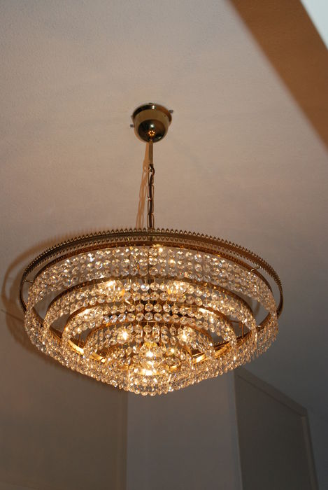 Chandelier with Swarovski spectra crystal, Belgium, late 20th century