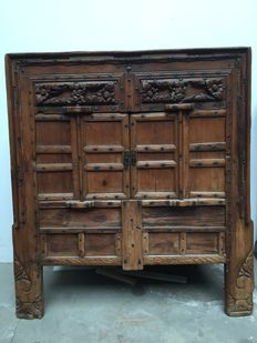 Old wooden credenza – China – end '800s