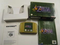 Nintendo 64 game - The Legend of Zelda: Majora's Mask - complete in box