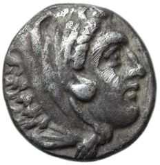 Greek Antiquity,  Kingdom of Macedon. Alexander III AR Drachm.  c. 310-301. BC.